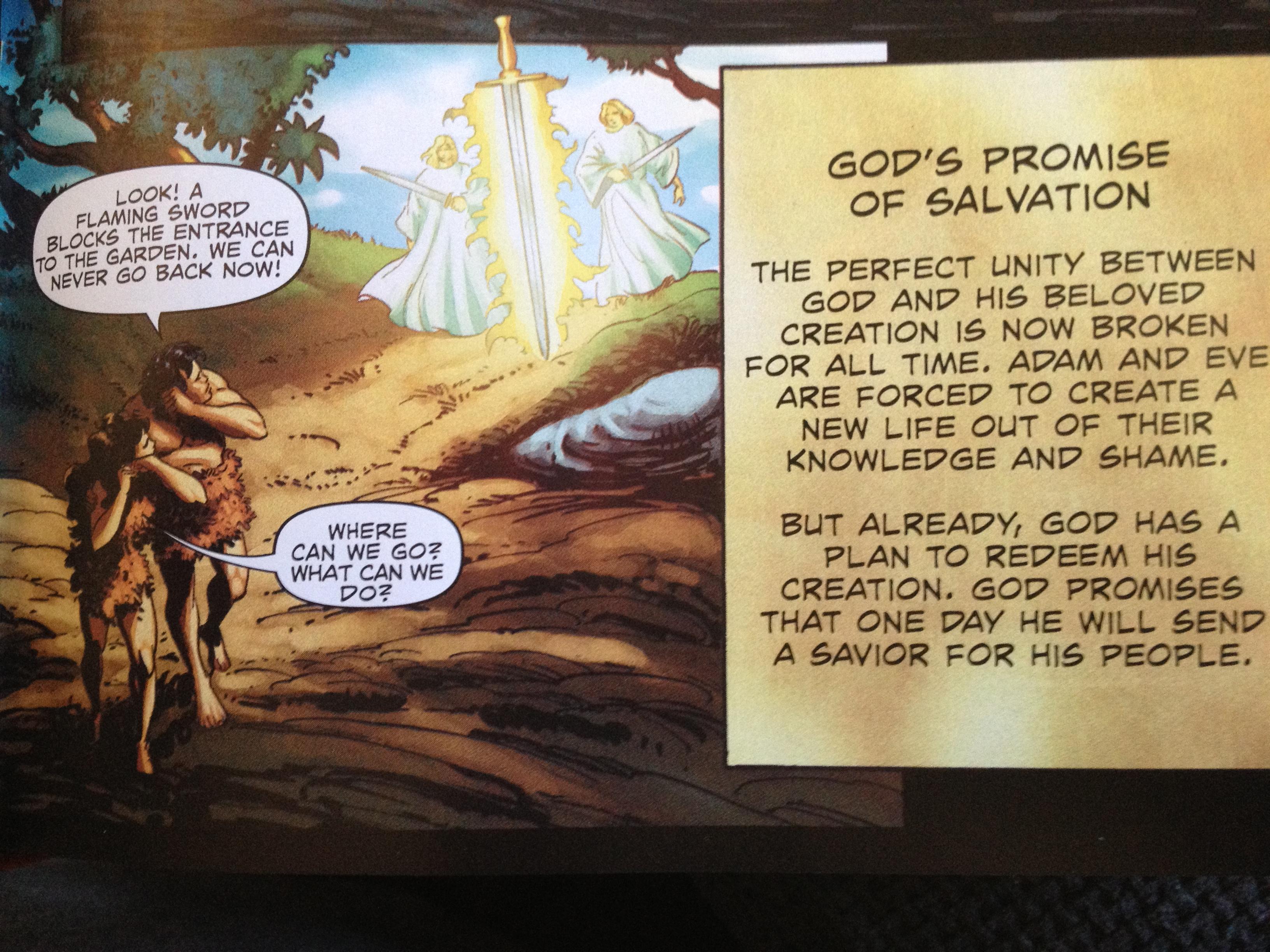 Action Bible  Temptation 3