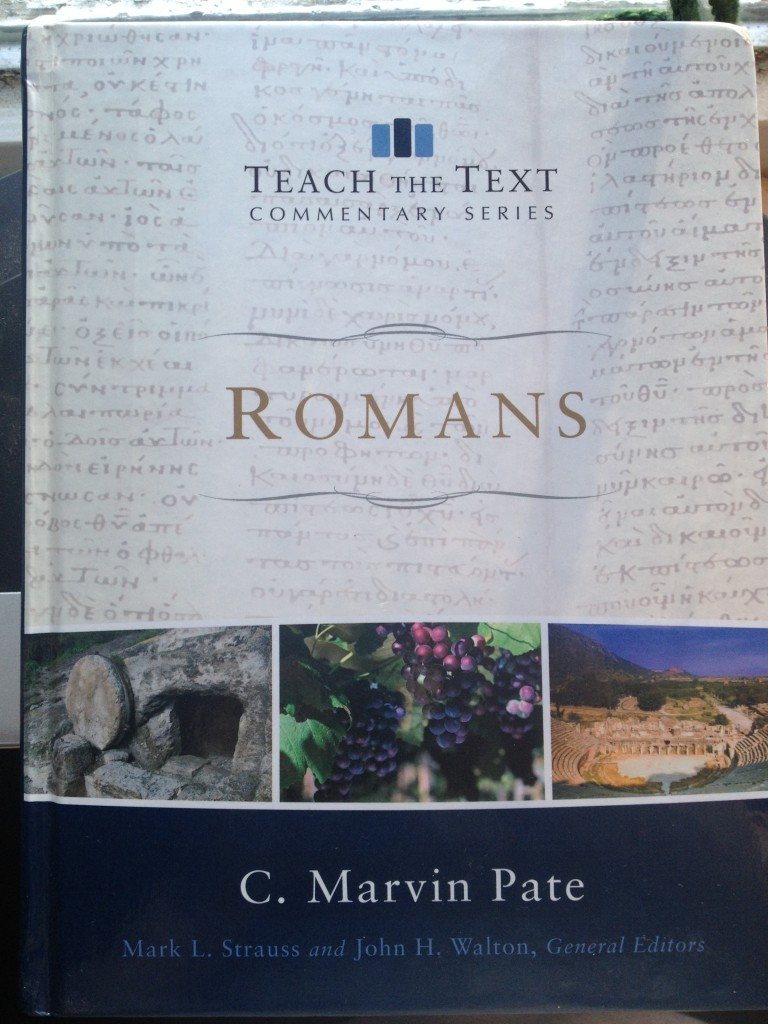 Romans Marvin Pate