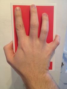 Unbreakable hand