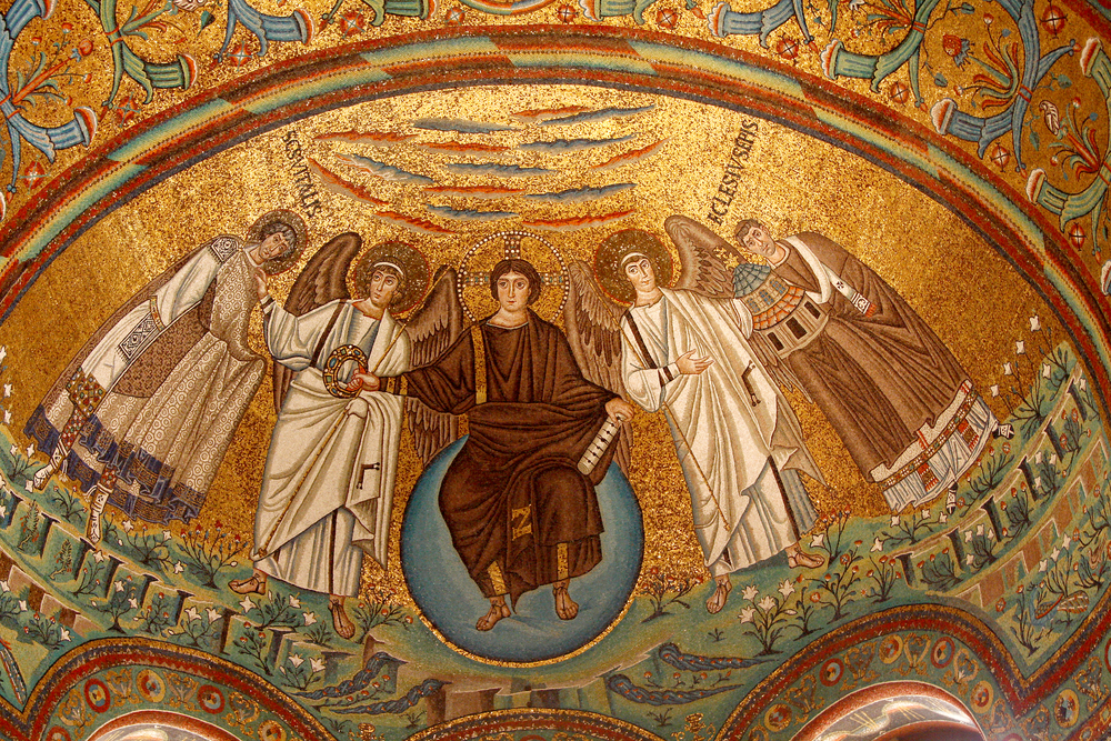 Ravenna-San-Vitale-famous-mosaic-Italy